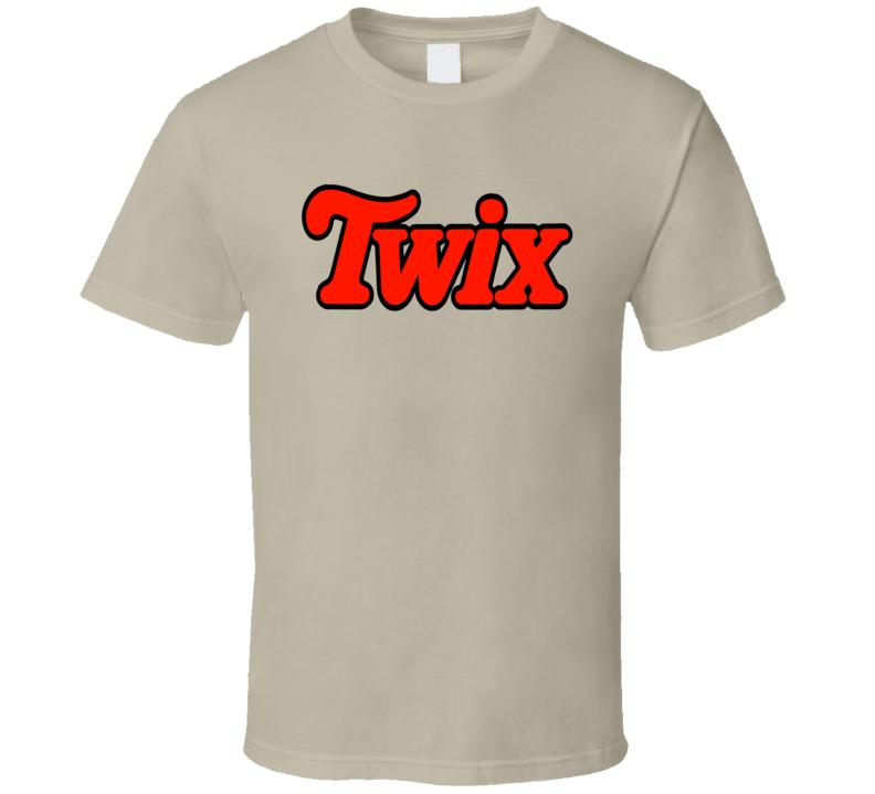 Twix Chocolate Twin Bar Logo T Shirt