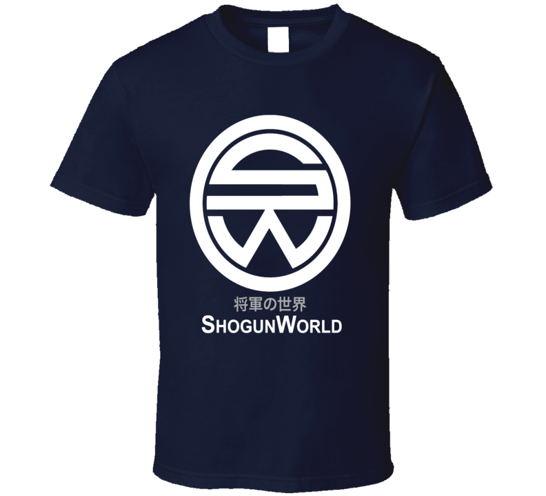 Shogun World Delos Destination Westworld Inspired T Shirt
