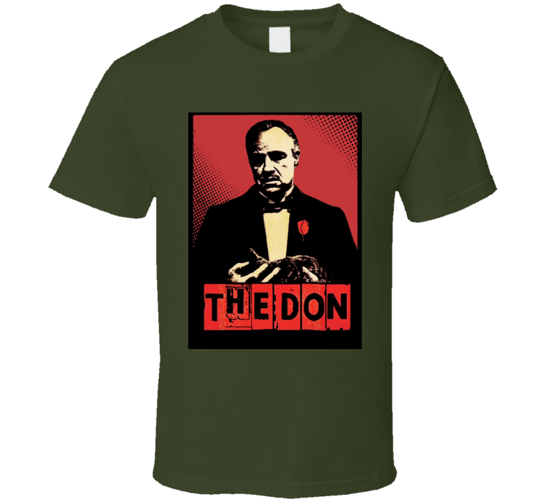 Godfather Vito Corleone The Don Mafia Cosa Nostra Capo T Shirt