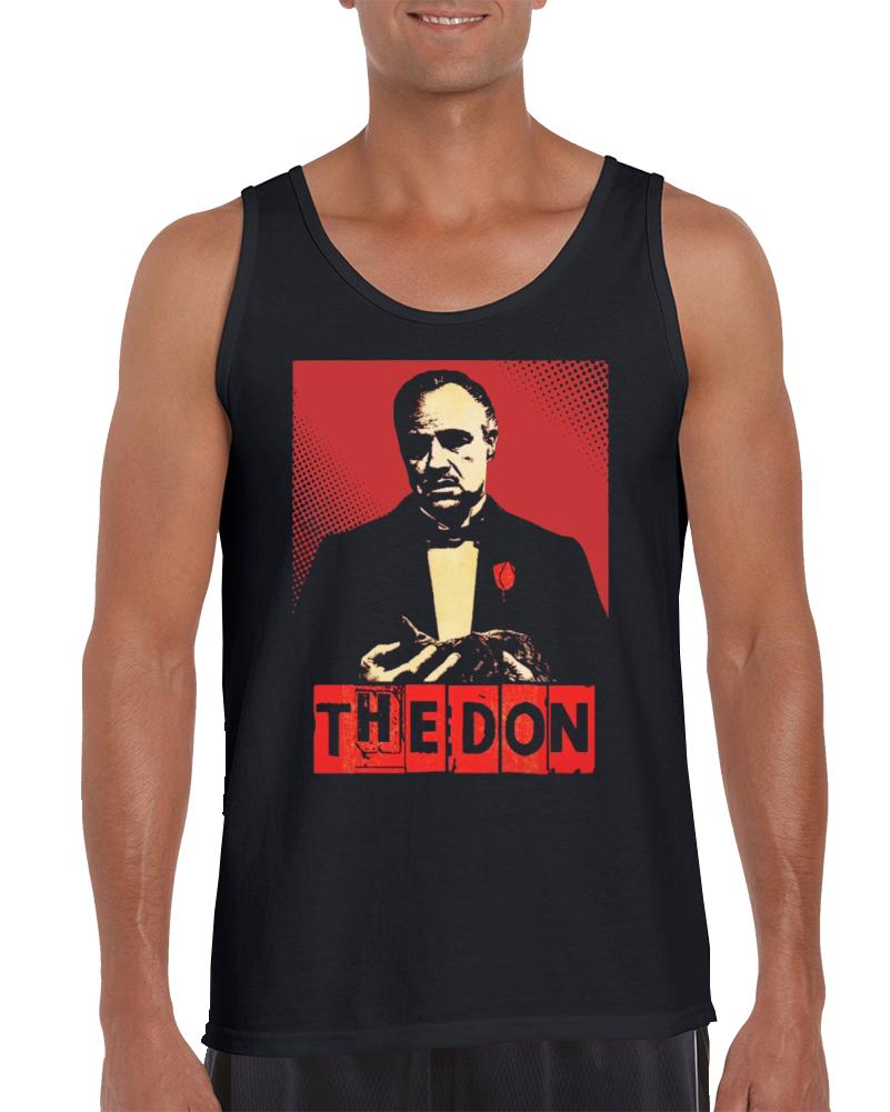 Godfather Vito Corleone The Don Mafia Cosa Nostra Capo 2 Tanktop