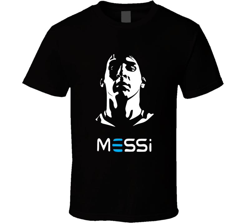 Lionel Messi FC Barcelona Argentina National World Cup Soccer T Shirt