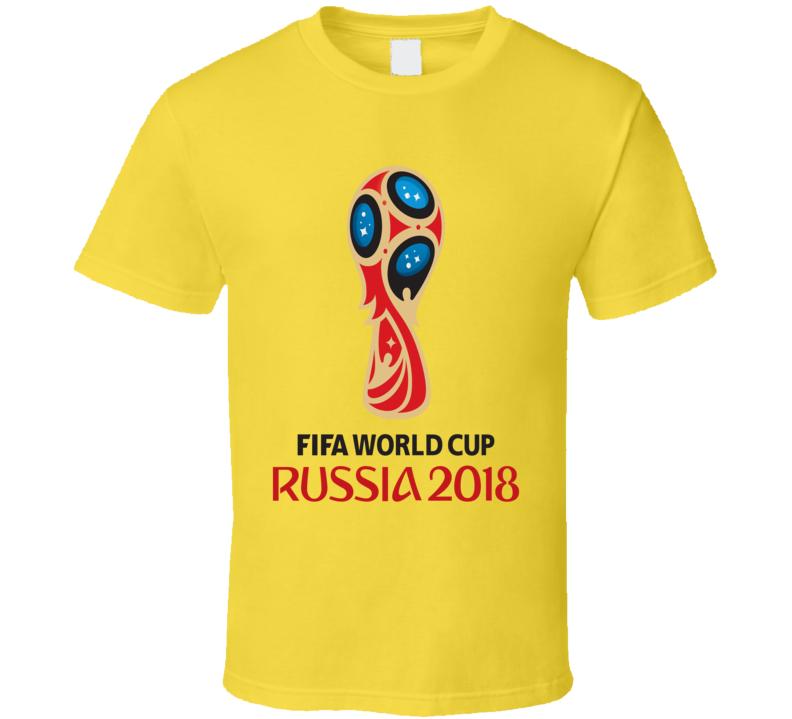 FIFA World Cup Russia 2018 Logo Full Color Camiseta T Shirt