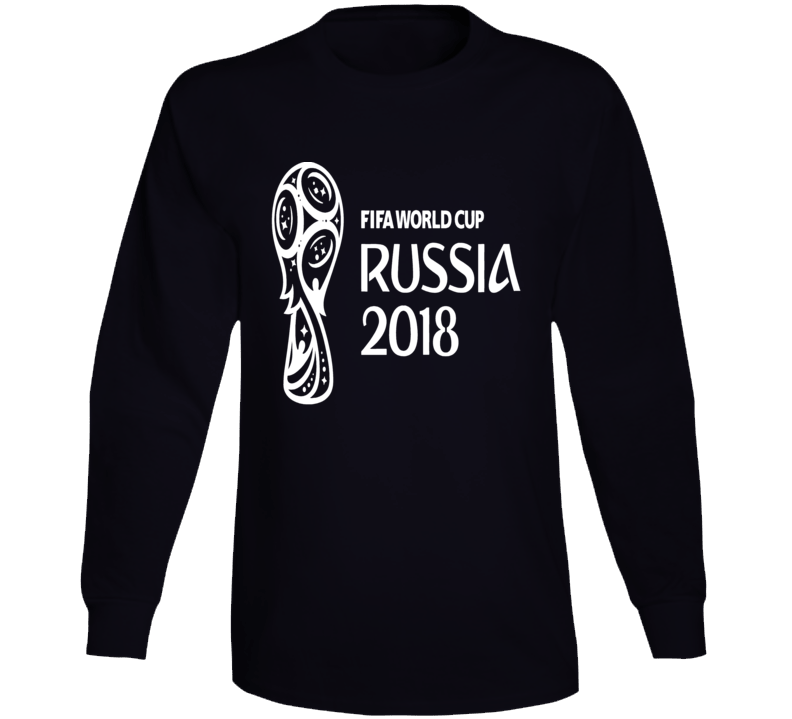 FIFA World Cup Russia 2018 Logo White Camiseta Long Sleeve