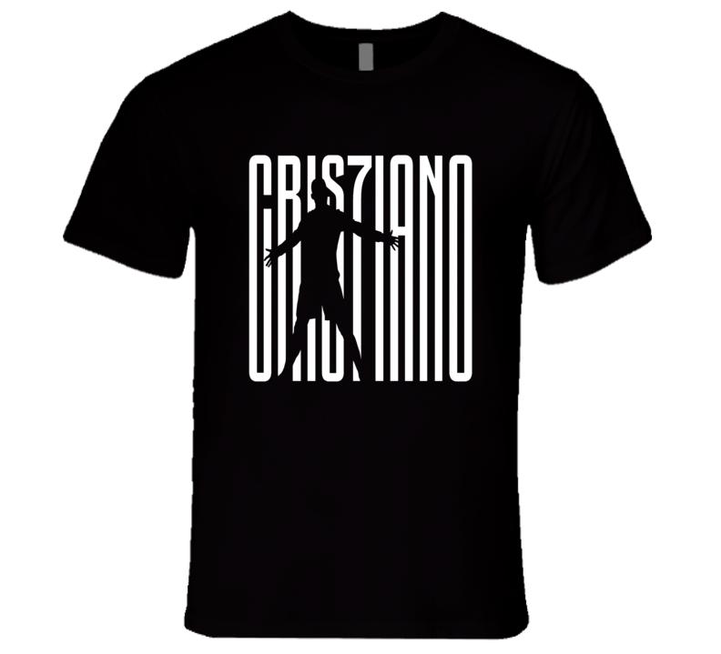 Cristiano Ronaldo Juventus CR7 Seria A Soccer Jersey T Shirt