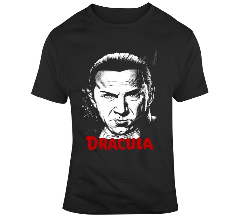 Dracula retro movie poster Bela Lugosi classic vampire movie 2 T Shirt