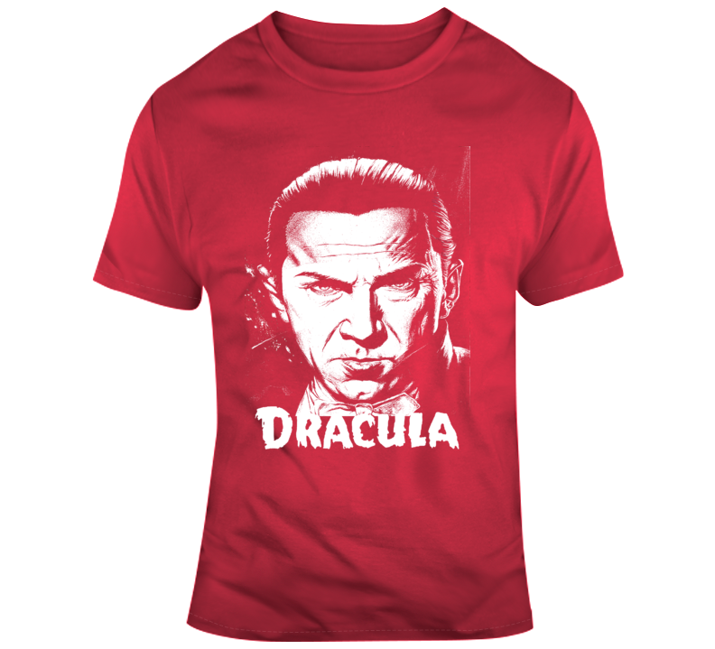 Dracula Retro Movie Poster Bela Lugosi Classic Vampire Movie 3 T Shirt