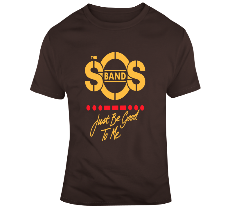 The SOS Band Just be Good To Me Funk Disco R and B 80s T Shirt