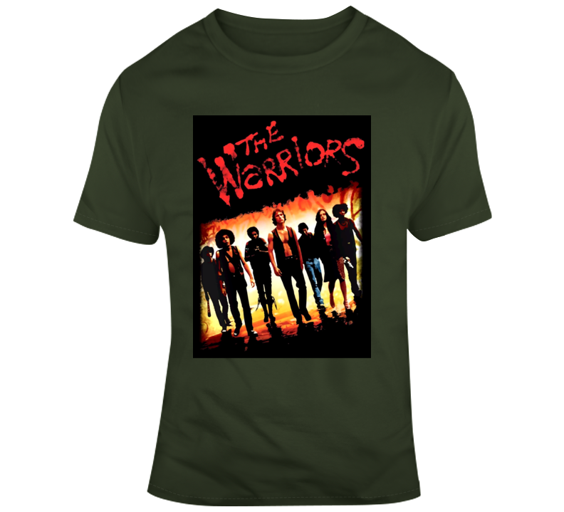 The Warriors 70s 80s cult classic gang movie New York 2 T Shirt