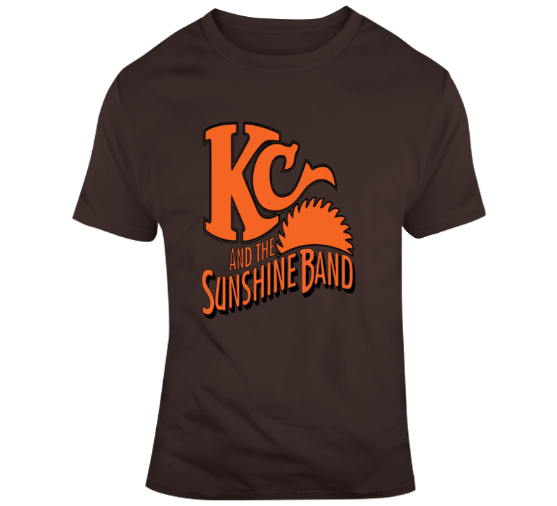 Kc And The Sunshine Band Retro 70s 80s Album Style T Shirt