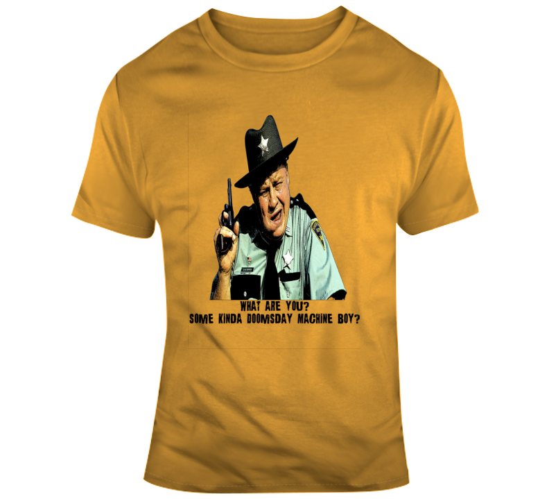 Sheriff JW Pepper James Bond Live and Let Die Quote T Shirt