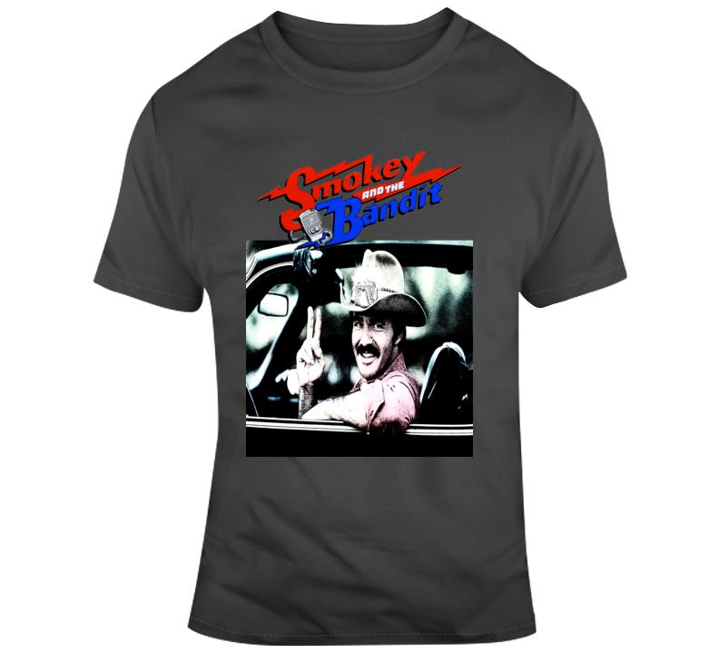 Burt Reynolds The Bandit Smokey and the Bandit 80s T Shirt