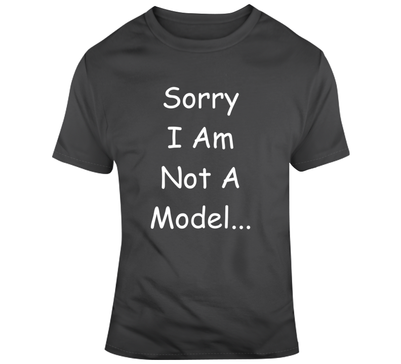 Sorry Not A Model Jersey Shore Vacation Paulie Vinnie TV 2 T Shirt