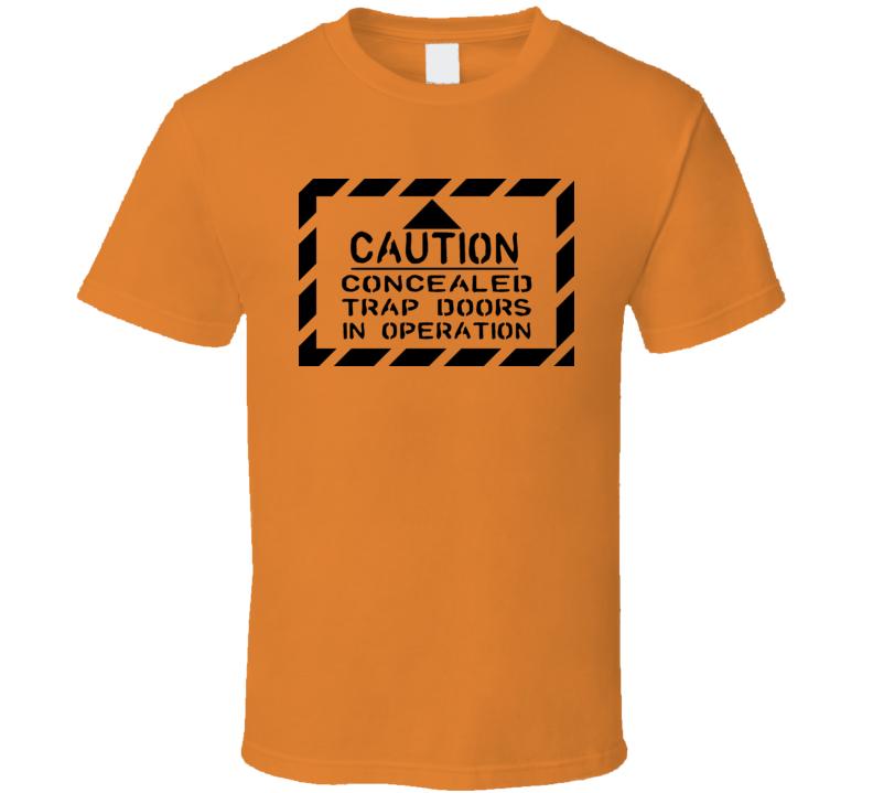 Trap Doors t-shirt Dark Tower gunslingers gamer swag Cool Geek wear shirts