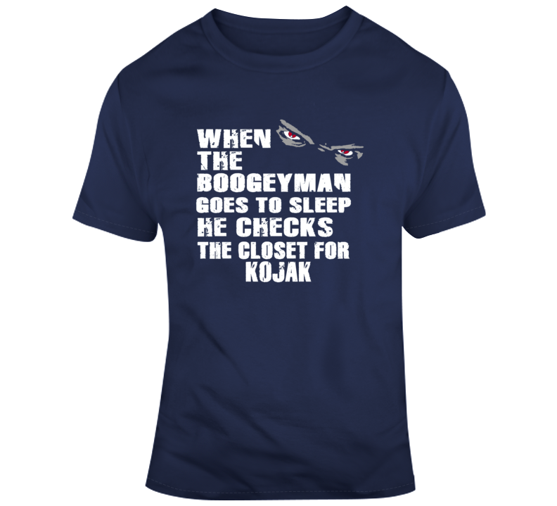 Boogeyman Closet Kojak Telly Savalas Classic Tv Detective Series T-shirt