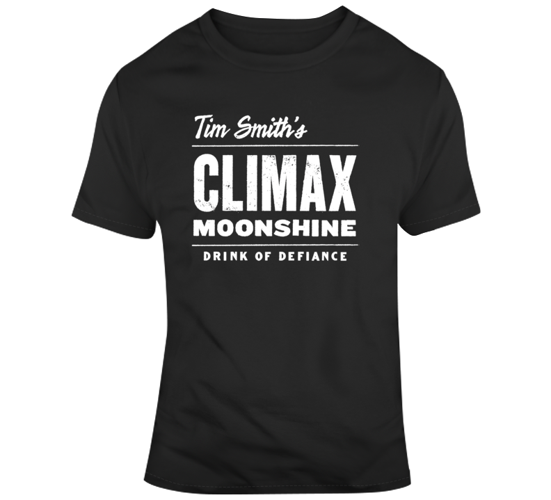Moonshiners Climax Tim Smith's Climax Moonshine Logo 2 T Shirt