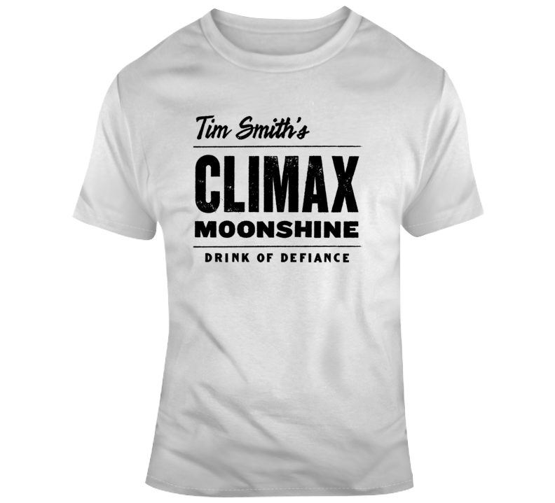 Moonshiners Climax Tim Smith's Climax Logo T Shirt