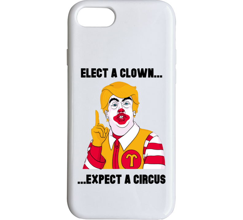 Donald Trump Clown Circus Anti Trump 2 Phone Case