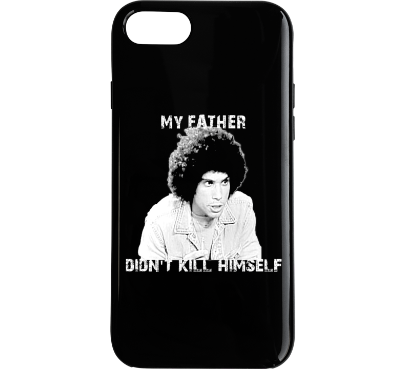 Jeffery Epstein My Father Didn't Kill Himself Juan Epstien Funny Kotter Phone Case