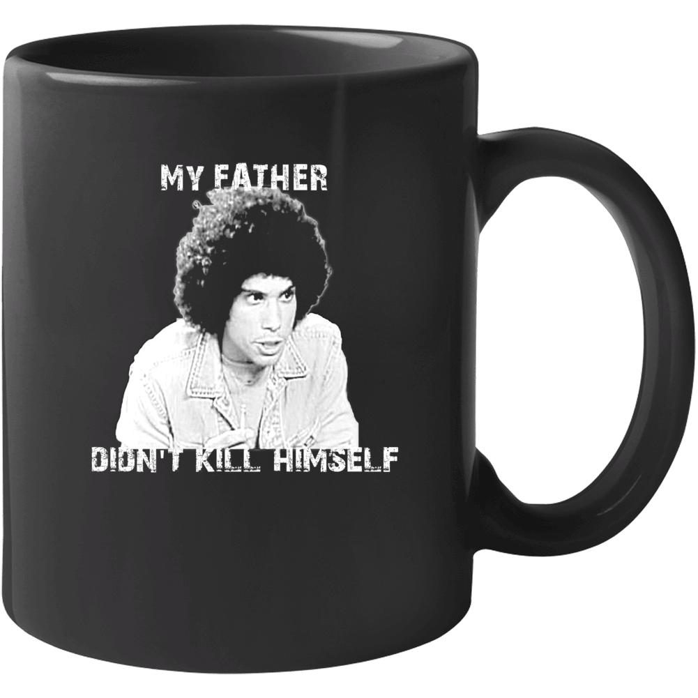 Jeffery Epstein My Father Didn't Kill Himself Juan Epstien Funny Kotter Mug
