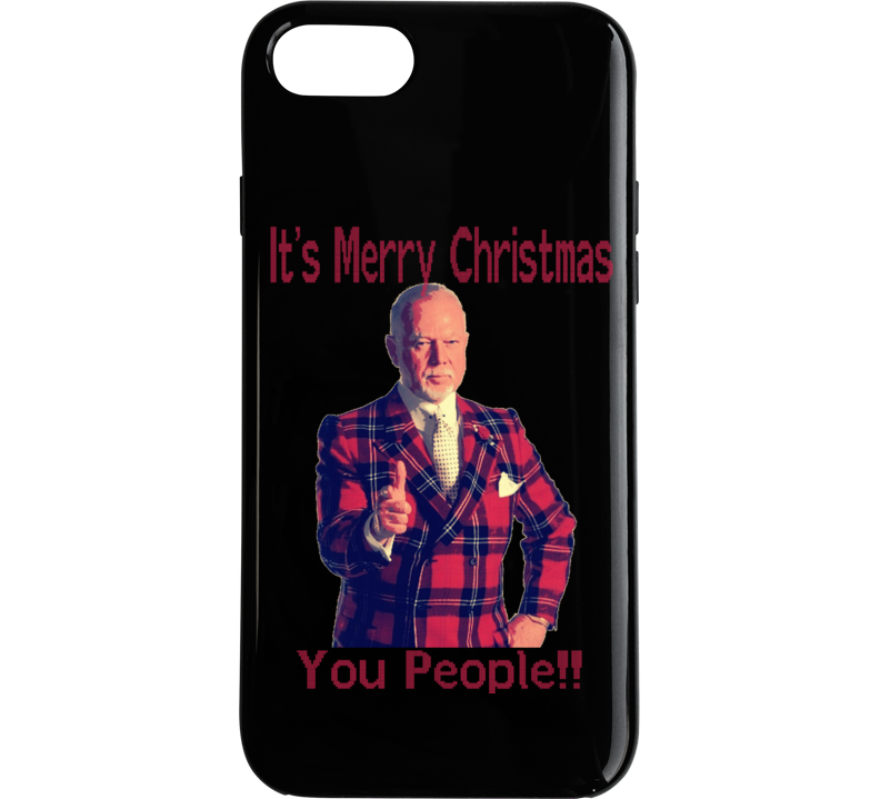 Don Cherry Merry Christmas You People Not Pc Funny Ugly Sweater Style Phone Case