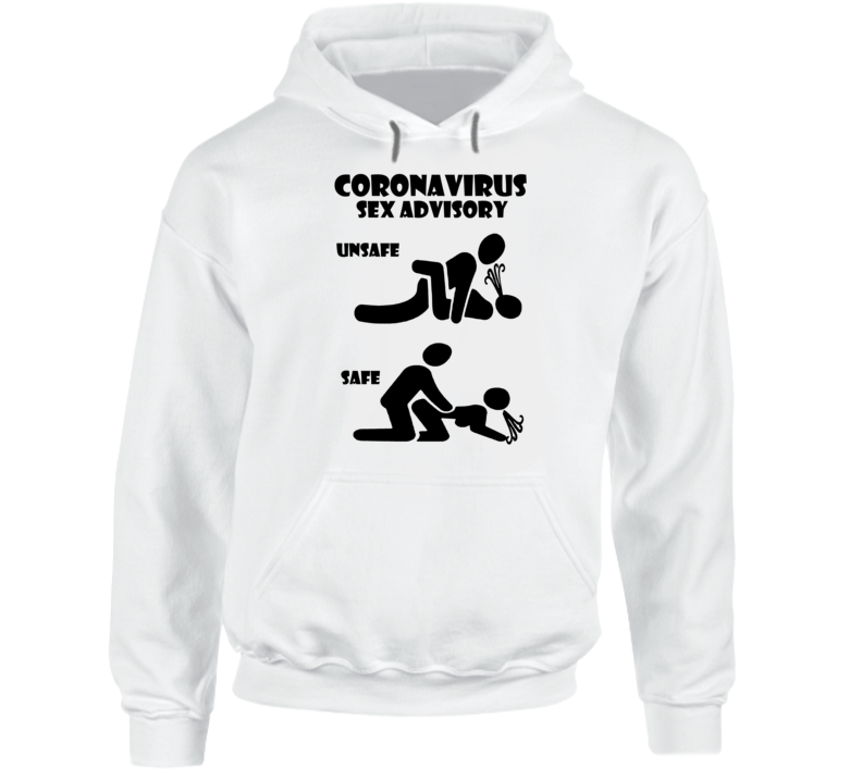 Social Distancing Safe Sex Quarantine Sex Kama Sutra Position Hoodie