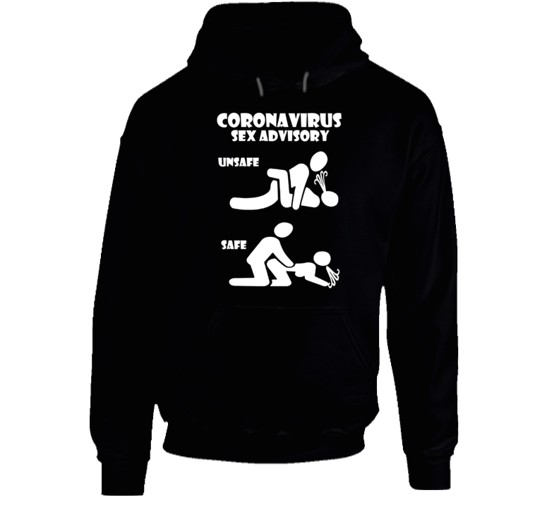 Social Distancing Safe Sex Quarantine Sex New Kama Sutra Position 2 Hoodie