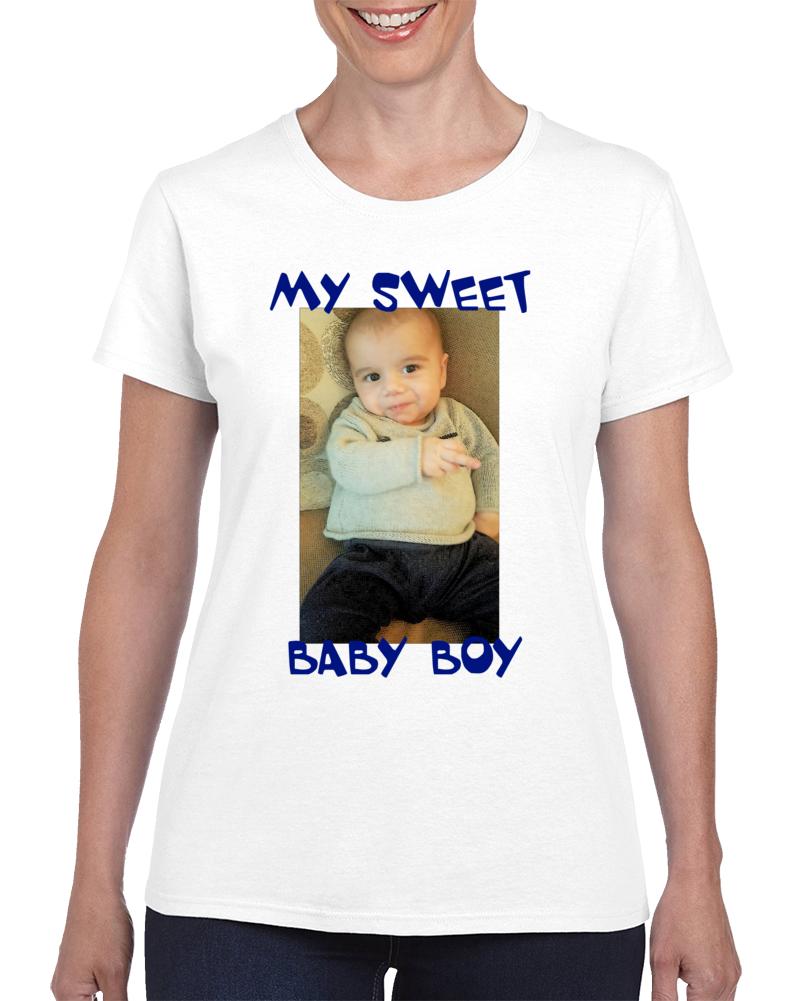 Momma's Boy Ladies T Shirt