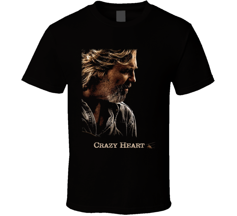 Crazy Heart Cool T Shirt