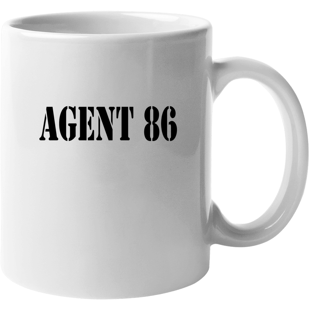 Agent 86 Funny Control Kaos Maxwell Smart Mug