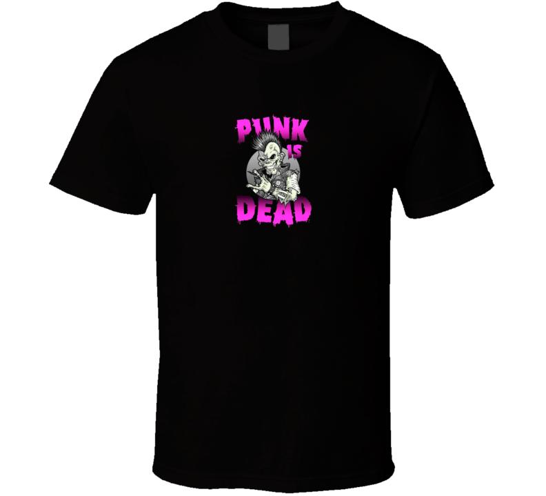 Punk is Dead t-shirt Biker rock and roll punk rock shirts