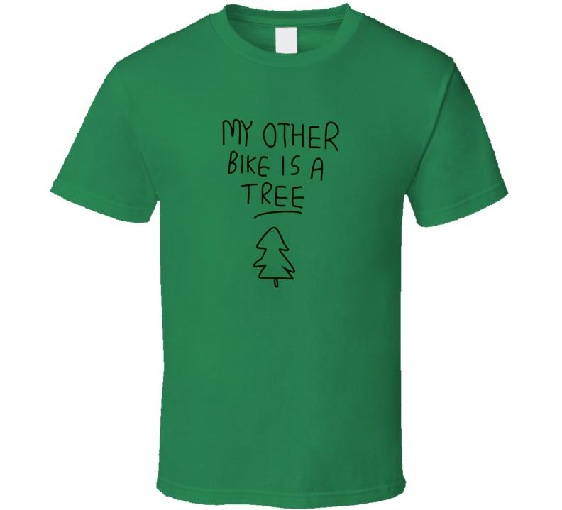 BoJack Horseman My other bike is a tree t-shirt funny tv show shirts