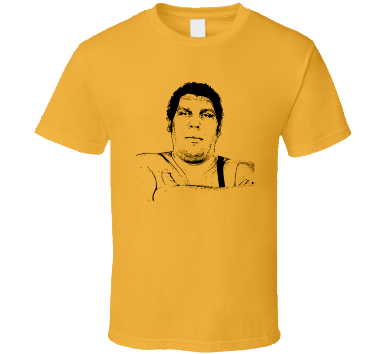 Andre the Giant t-shirt Classic Wrestling super star