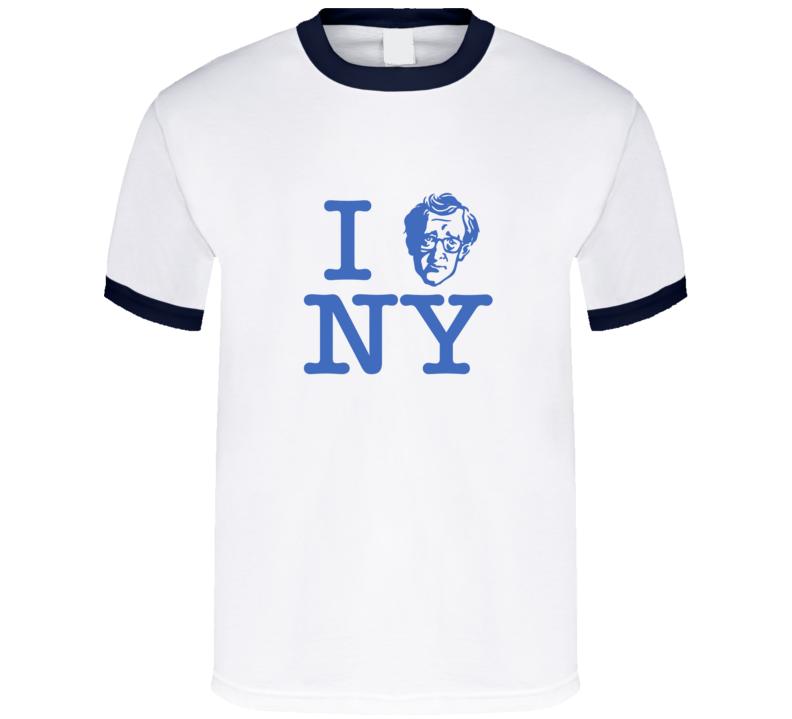 I heart New York Woody Allen t-shirt