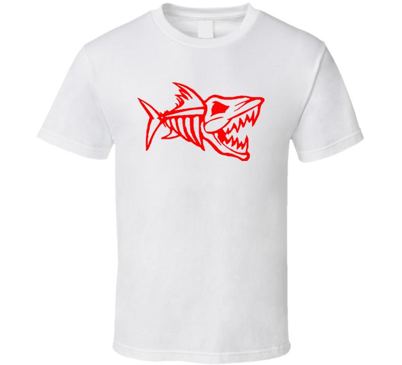 Shark dinosaur skeleton t-shirt COOL shark week inspired