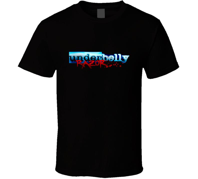 Underbelly t-shirt Razor Season COOL Aussie TV shows underworld gangs mafia shirts