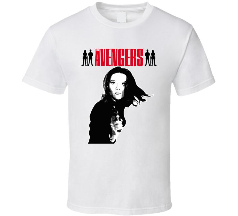 The Avengers Mrs Peel T Shirt