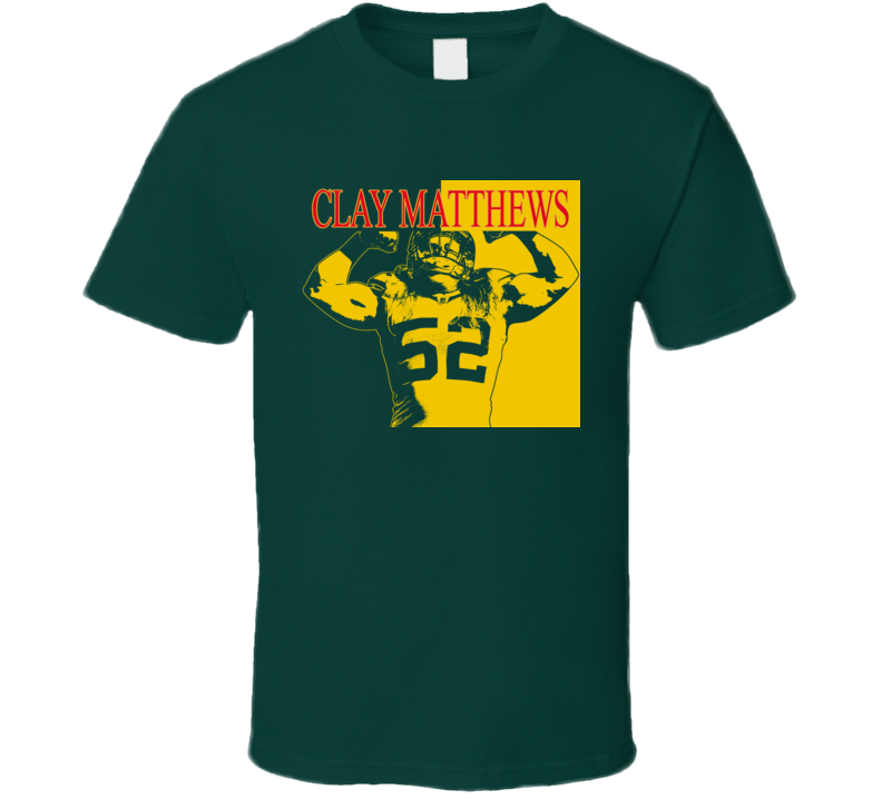 Clay Matthews Scarface Style T Shirt
