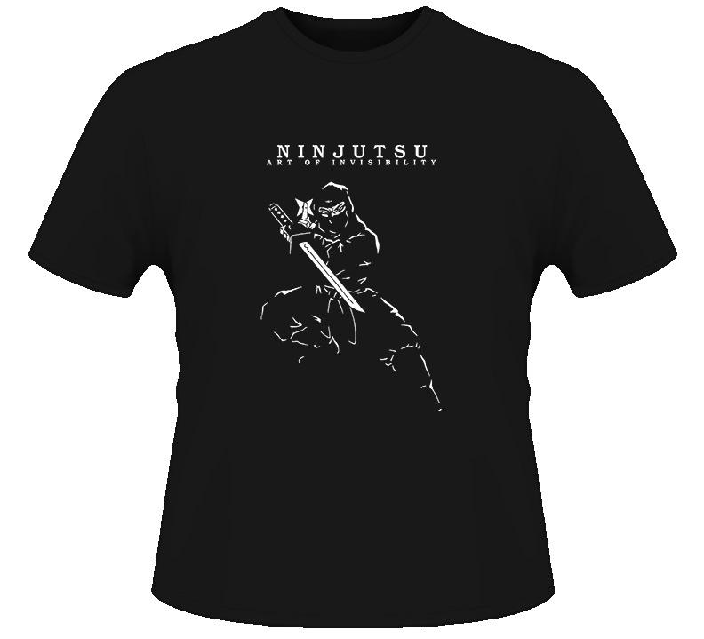Ninja Ninjitsu Mma T Shirt