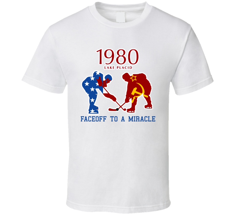 Miracle On Ice Hockey Usa T Shirt