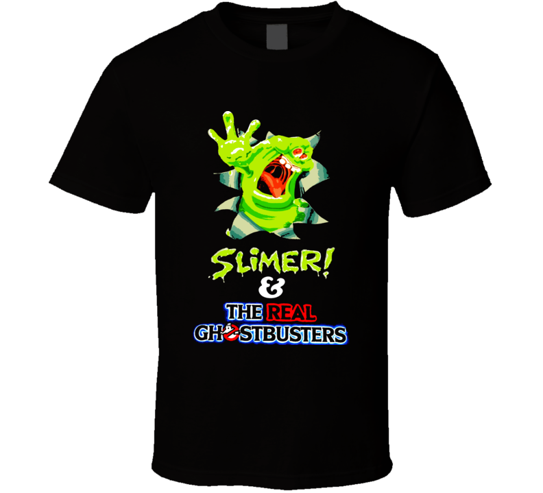 Slimer! And The Real Ghosterbusters Cereal T Shirt