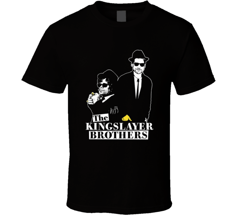 Game of Thrones Kingslayer Brothers t-shirt Funny Blues Brothers parody Jamie and the Imp COOL TV t-shirts