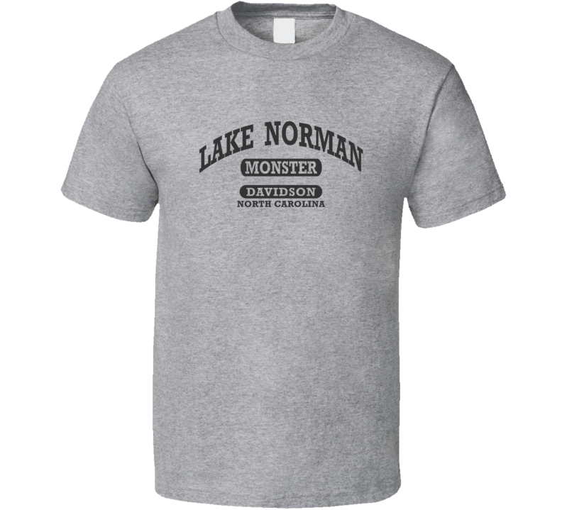 LAKE NORMAN MONSTER Gym Shirt DAVIDSON