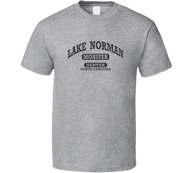 LAKE NORMAN MONSTER Gym Shirt DENVER