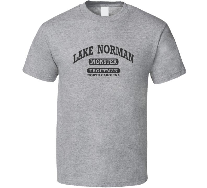 LAKE NORMAN MONSTER Gym Shirt TROUTMAN