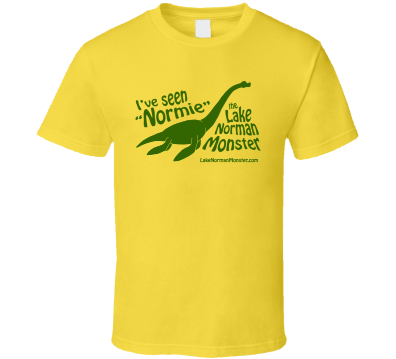 I\'ve Seen Normie - Green on Yellow T Shirt