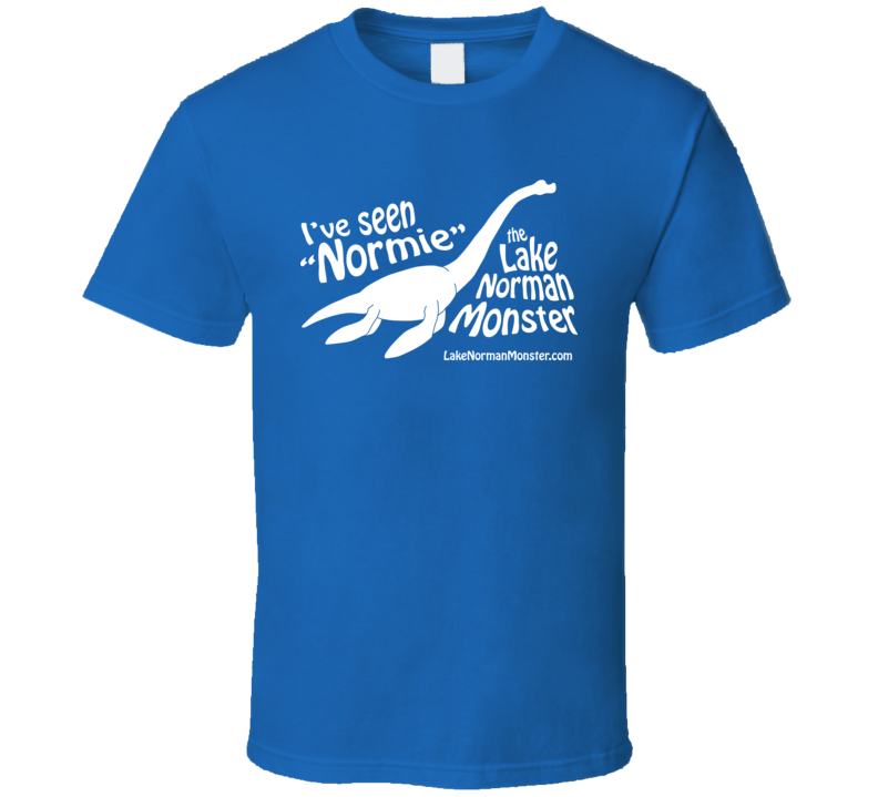 I\'ve Seen Normie - White on Blue T Shirt