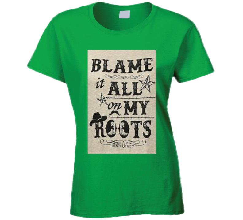 Blame It T Shirt