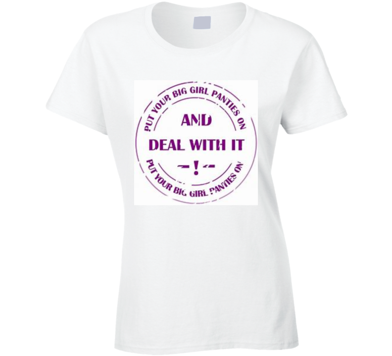 Deal With it T Shirt