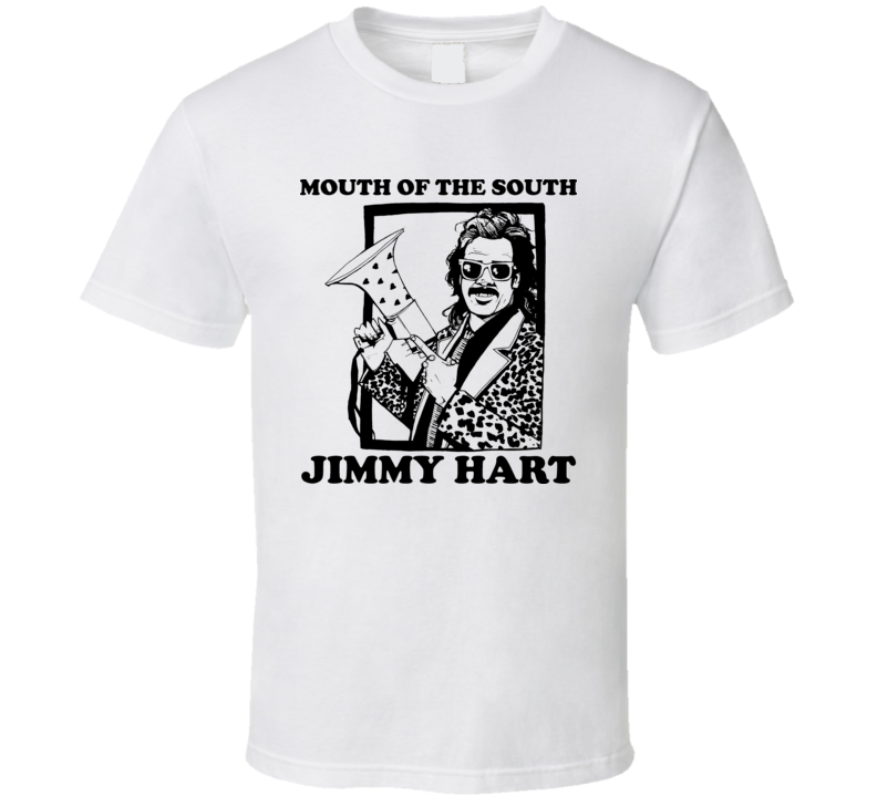 Jimmy Hart Mouth Of The South Wrestling T Shirt