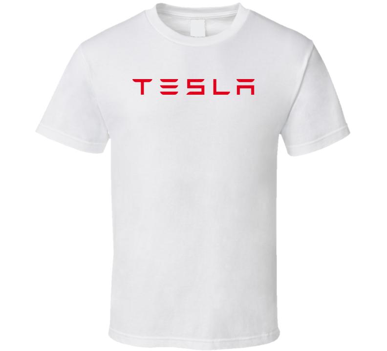 Tesla Sport Car T Shirt